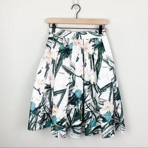 Anthropologie Comme Toi Tropical Midi Skirt (S)